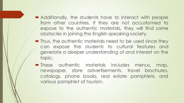  Additionally, the students have to interact with people from other countries. If they are not accustomed to expose to th...