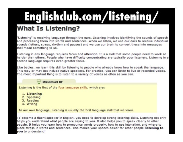Englishclub.com/listening/