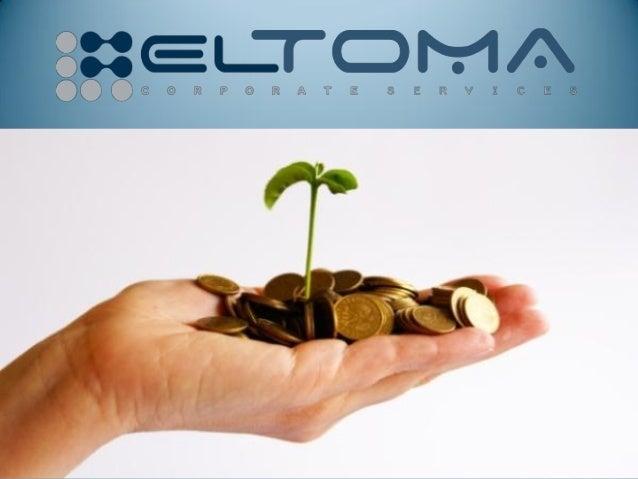 О нас• Компания Eltoma Corporate Services была создана в 2004 году и  предлагает широкий спектр корпоративных, финансовых ...