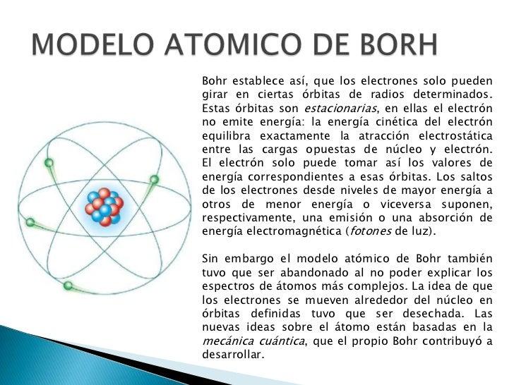 modelo atomico actual de bohr yahoo dating