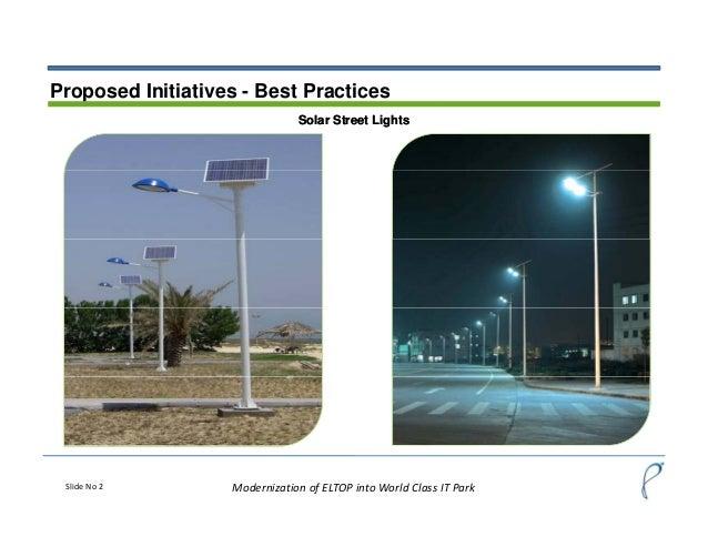 Modernization of ELTOP,Mohali into World Class IT Park Slide 2