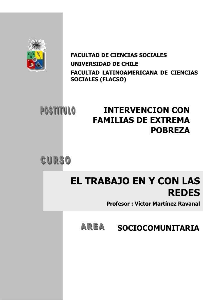 FACULTAD DE CIENCIAS SOCIALES UNIVERSIDAD DE CHILE FACULTAD LATINOAMERICANA DE CIENCIAS SOCIALES (FLACSO)             INTE...