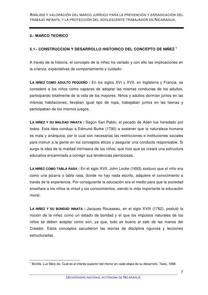 Analisis y Valoracion del Marco Legal para la prevencion y erradicaci…