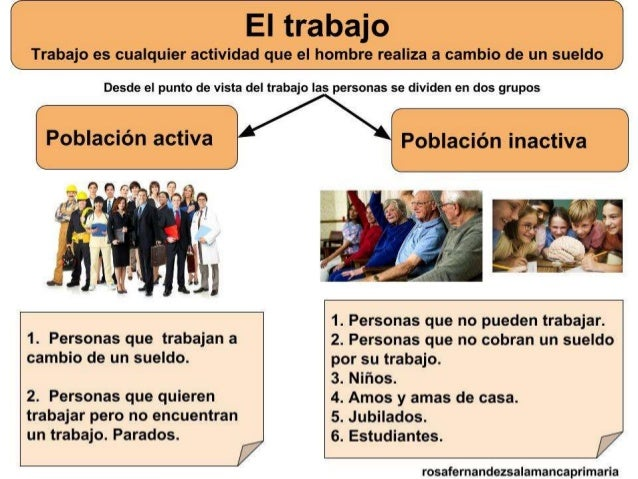 EL TRABAJO Y LOS SECTORES PRODUCTIVOS