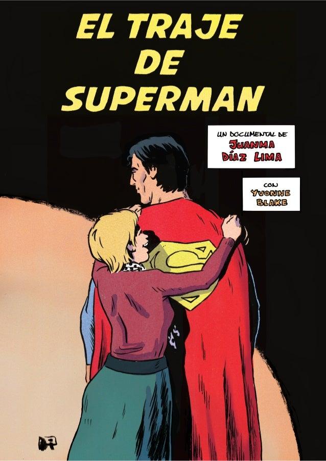 El traje de Superman. Comic