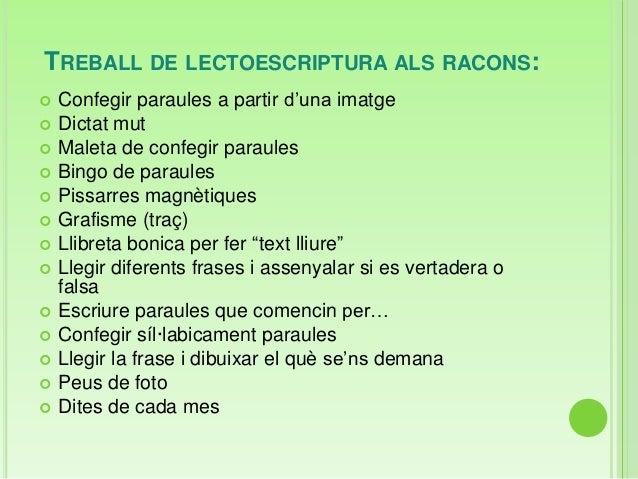 TREBALL DE LECTOESCRIPTURA ALS RACONS: Confegir paraules a partir d'una imatge Dictat mut Maleta de confegir paraules ...