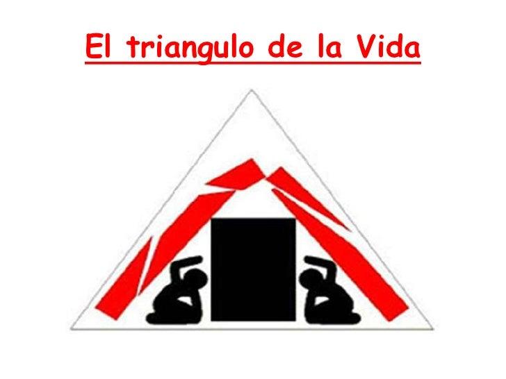 El triangulo de la Vida