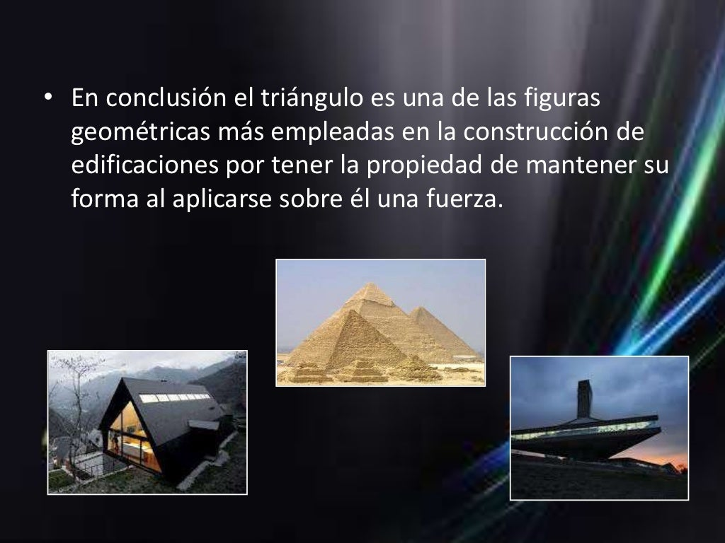 El triangulo y su relaci n con la arquitectura for Arquitectura que se estudia
