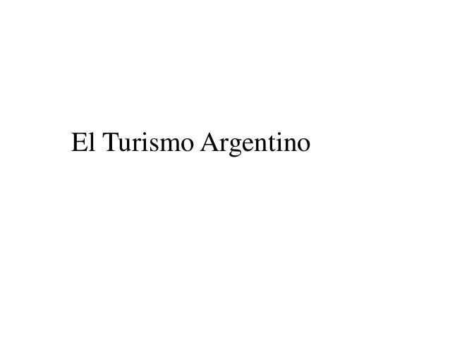 El Turismo Argentino