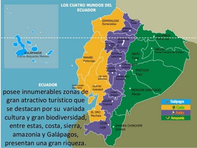 El turismo en el ecuador presentación 2