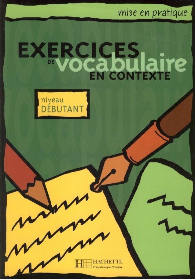 Eluerd r exercices de vocabulaire en contexte. niveau debutant-hachette (2008)
