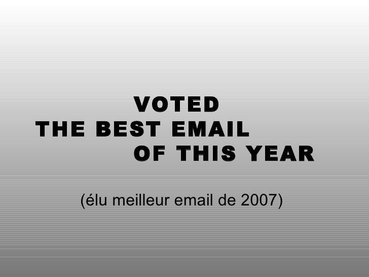elu meilleur site de rencontre 2012 Maisons-Alfort