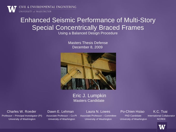 Introduction for thesis defense
