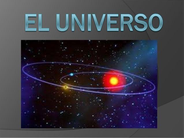 El universoGrado : Quinto GradoBloque: 1Asignatura: geografía