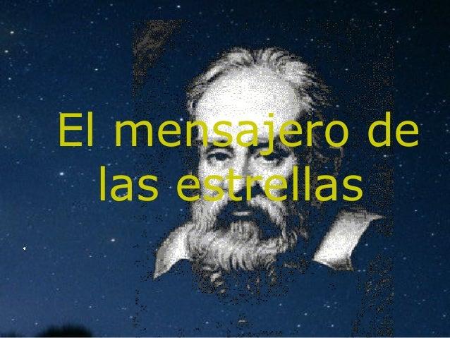 El mensajero de  las estrellas