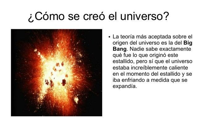 El universo y sistema solar for Como se creo el suelo