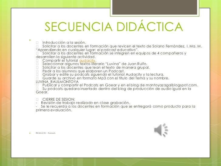 SECUENCIA DIDÁCTICA     Introducción a la sesión.     Solicitar a los docentes en formación que revicen el texto de Sol...