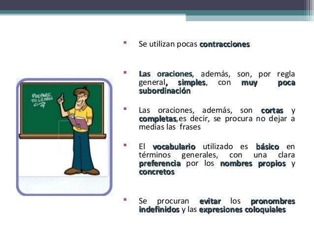 El uso del ingles en el aula por parte del profesor for Expresiones cortas