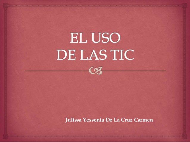 Julissa Yessenia De La Cruz Carmen