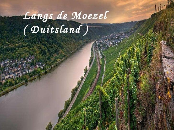 Langs de Moezel ( Duitsland )