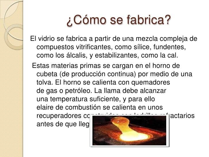 El vidrio - Fabrica de floreros de vidrio ...