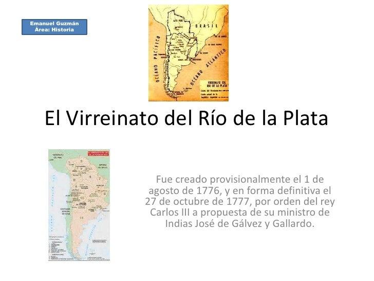 El Virreinato Del Rio De La Plata