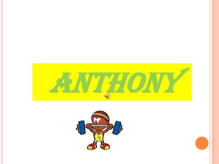 ANTHONY<br />
