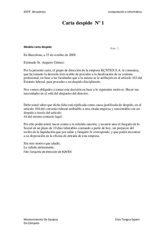 Modelo De Carta De Finiquito De Tarjeta De Credito Banco Del