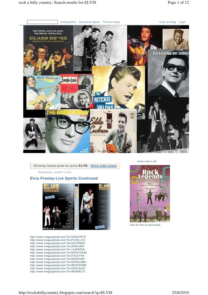 rock a billy country: Search results for ELVIS                                                              Page 1 of 12  ...