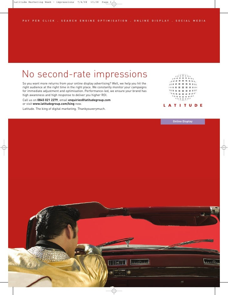 No second-rate impressions      PAY    PER    CLICK      .   SEARCH      ENGINE      OPTIMISATION            .   ONLINE   ...