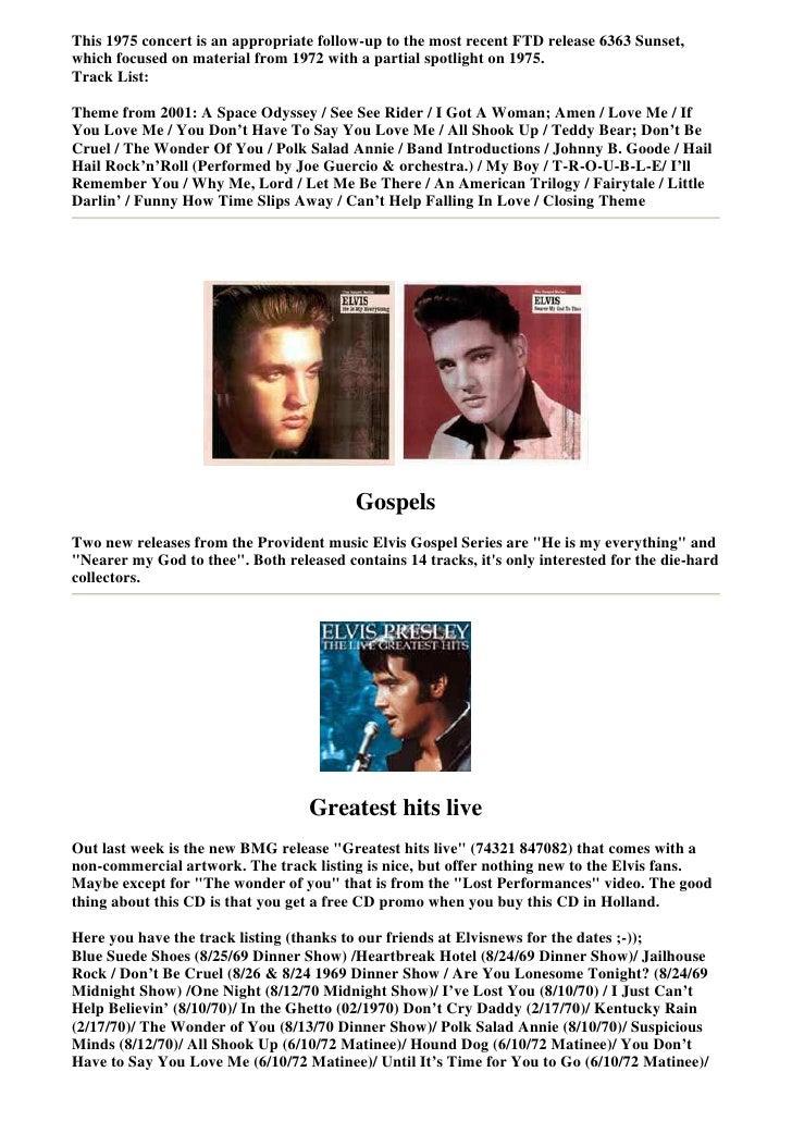 Elvis Presley Collectors Bmg5