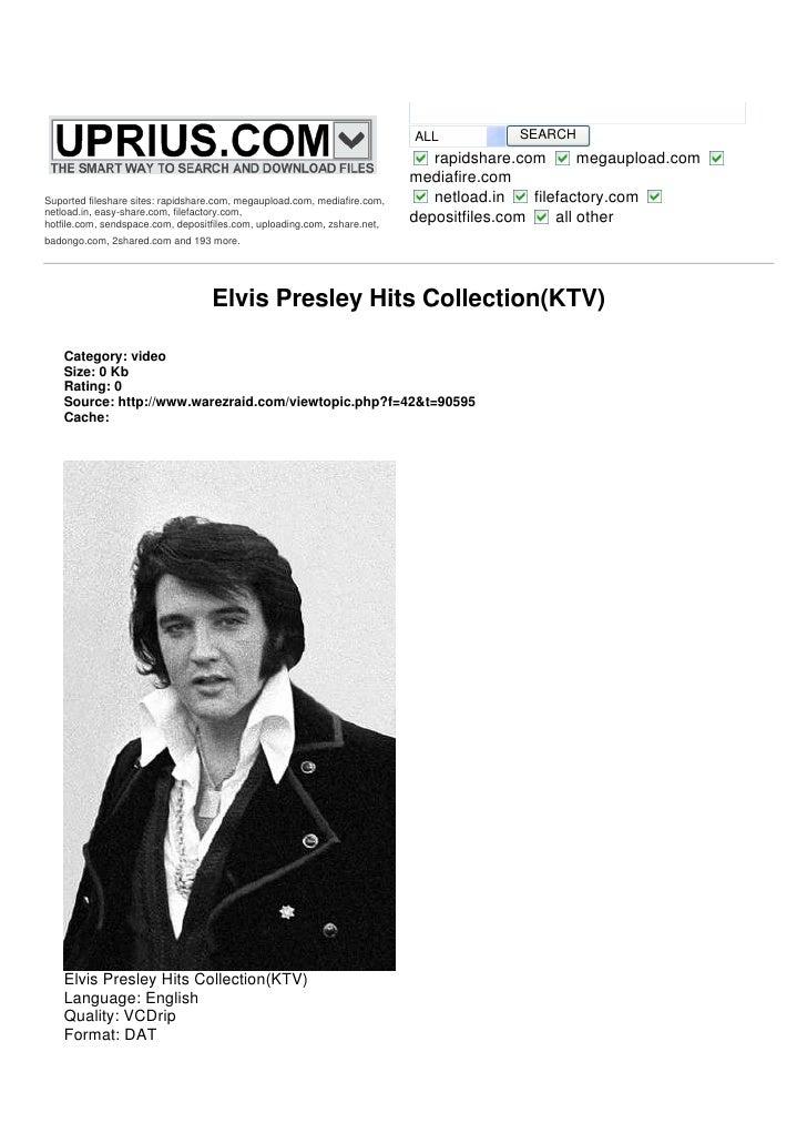 Case study of elvis presley