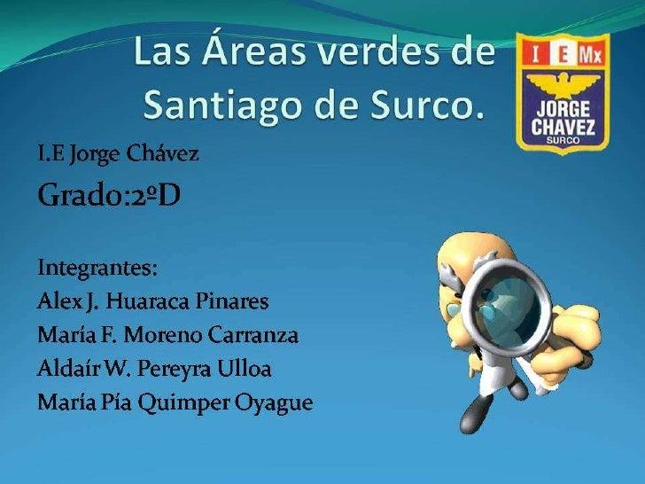 El Vivero Municipal de Santiago de Surco