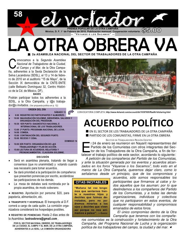2010                                                     PRENSA POPULAR DE LA OTRA CAMPAÑA                                ...