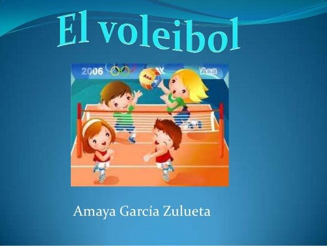 Amaya García Zulueta