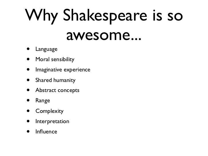 Elw 0411 intro to shakespeare.key