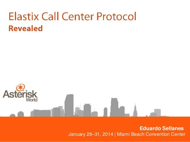 Eduardo Sellanes January 28–31, 2014 | Miami Beach Convention Center