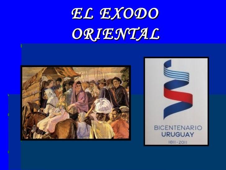 EL EXODO ORIENTAL