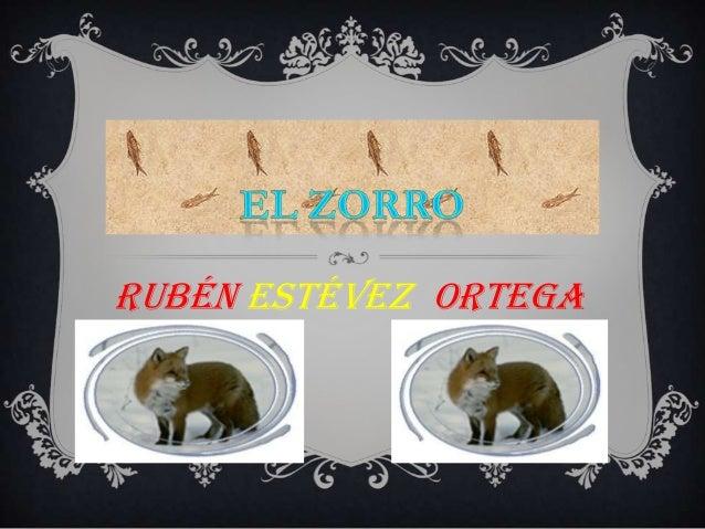 Rubén estévez ortega