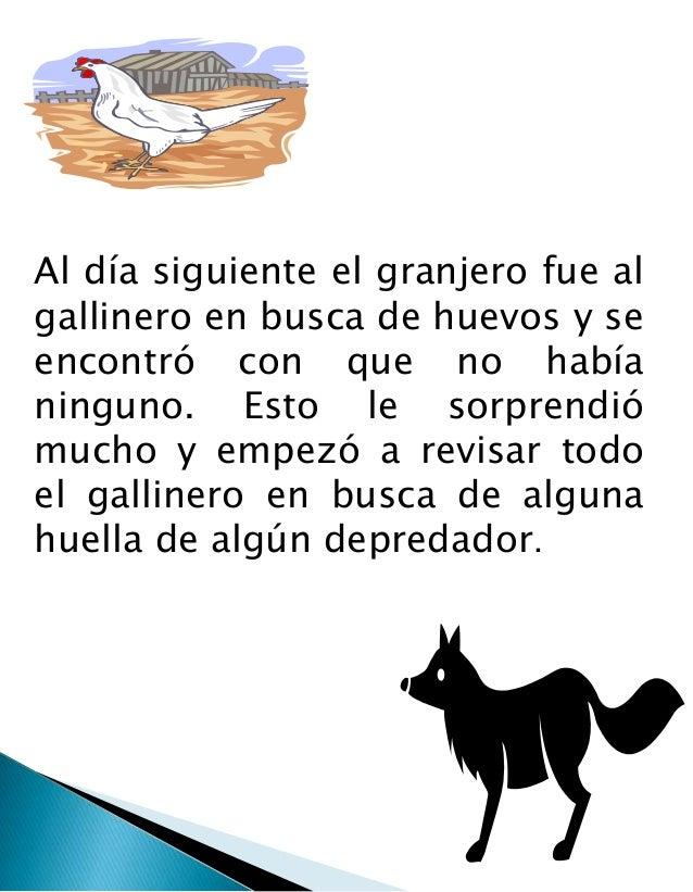 El zorro y las gallinas. adriana rojas (1) Slide 3