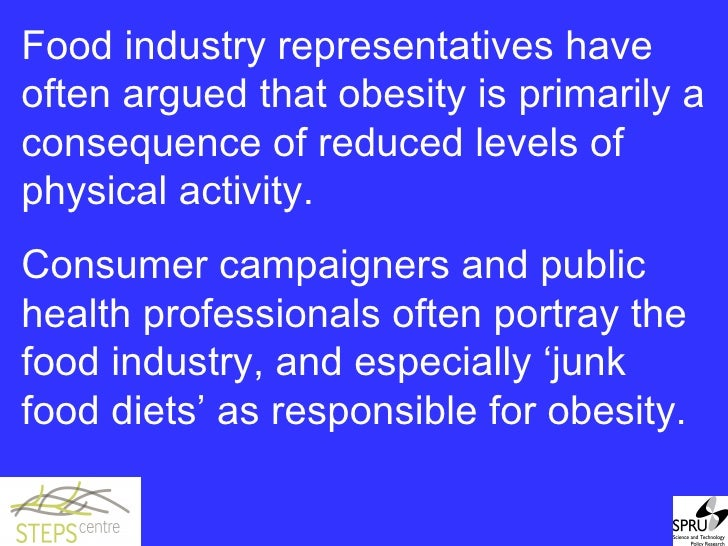 who is responsible for child obesity the issue of consumer manipulation Junk food not to blame for america's obesity epidemic: study  candy and soft drinks does not affect the health of children and adults.