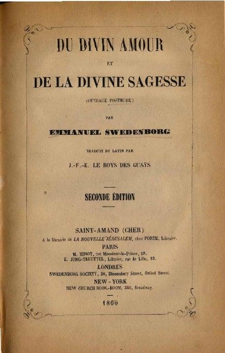 Em swedenborg-du-divin-amour-et-de-la-divine-sagesse-ouvrage-posthume-le boysdesguays-1860