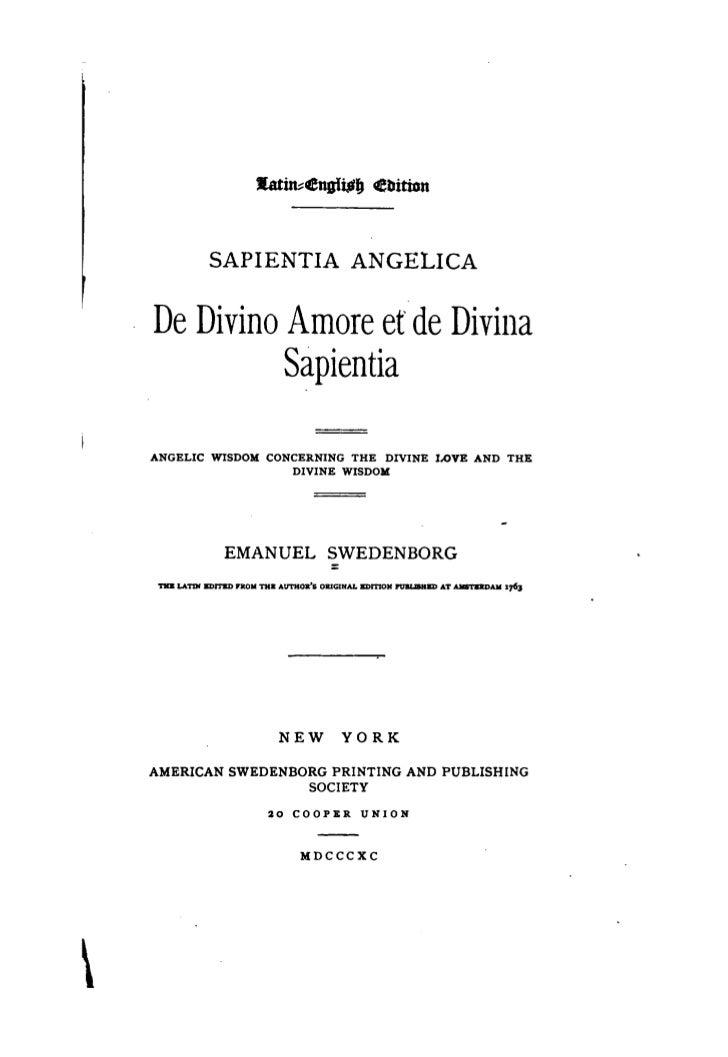 J[atin~engl~JJ             Ebition                SAPIENTIA ANGELICA    De Divino Amore etde Divina              Sapientia...