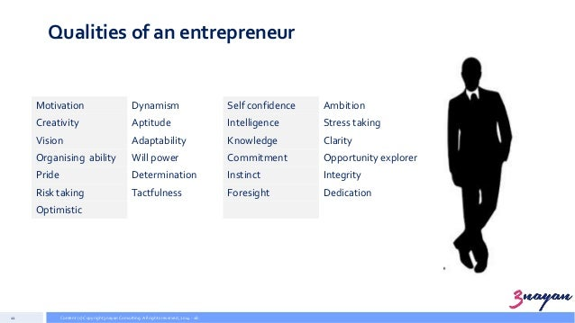 Entrepreneurial Management (EM 01) - Entrepreneurship