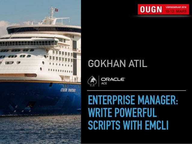 ENTERPRISE MANAGER: