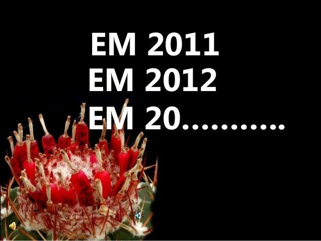 EM 2012 EM 20……….. EM 2011