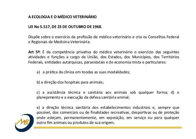 Medicina Veterinária da Conservação Slide 3