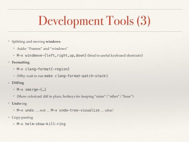 Emacs talk