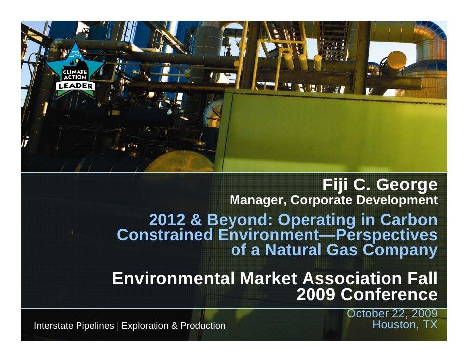Fiji C. George                                                   Manager, Corporate Development                        201...