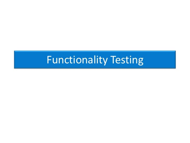 Functionality Testing > Link checkW3C – Link checker See result